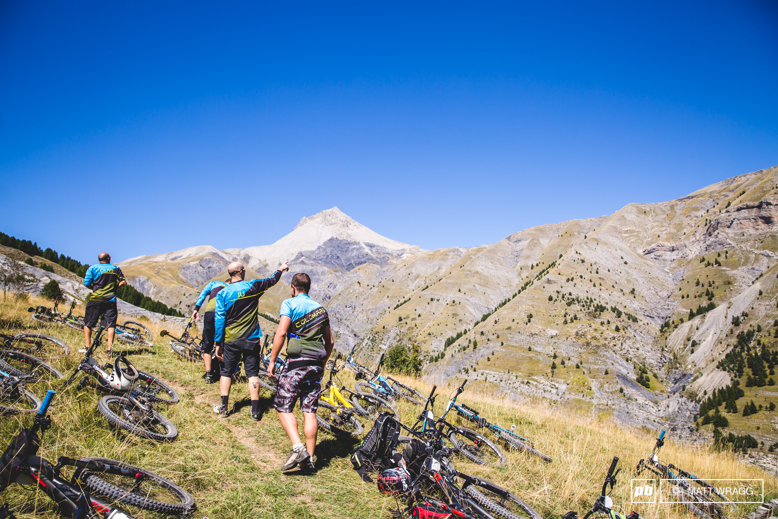 After a food stop in the hamlet it was time for the push to the top. While there was plenty of suffering to be had the view helped take your mind off it.