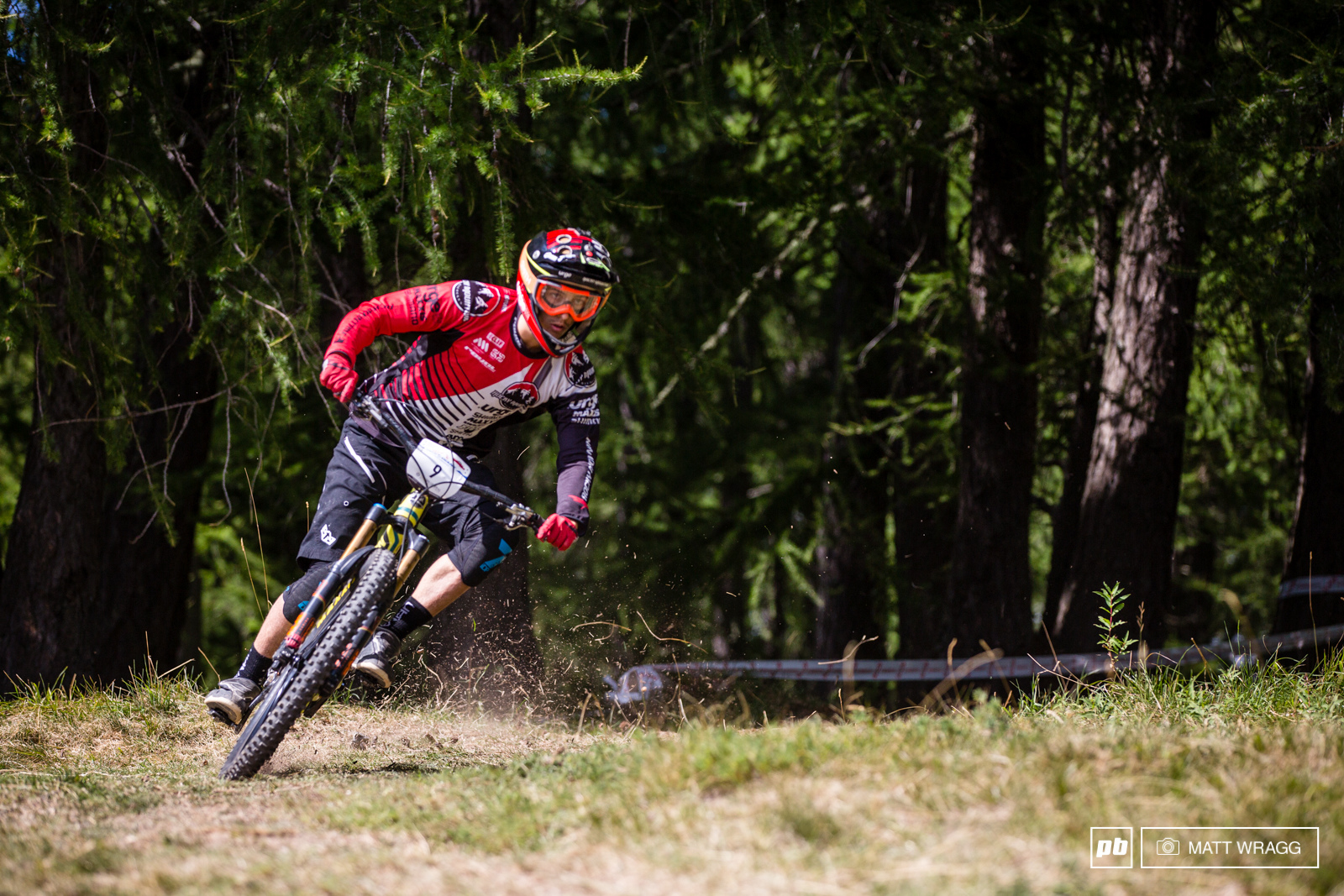 Alex Cure has a close fight with Jerome Clementz all weekend swapping seconds over the seven stages. In the end Cure got the better of the 2013 EWS World Champion by just 5 seconds over an hour of racing.