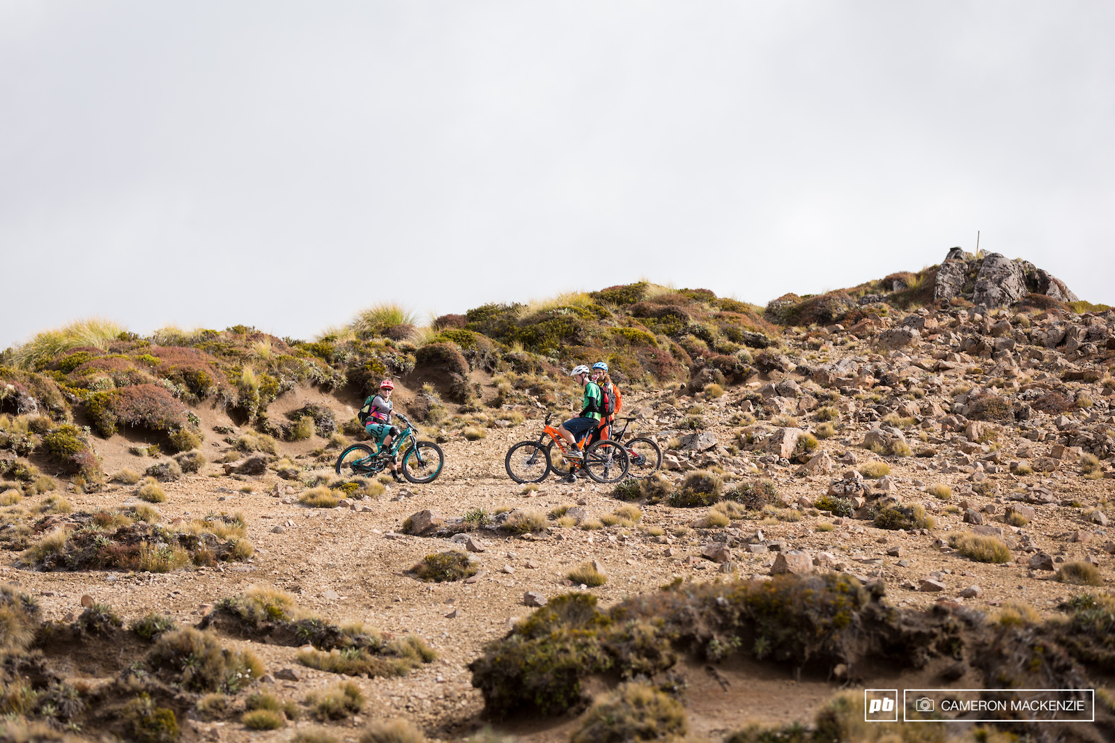Images from the JustMTB Native North Tour