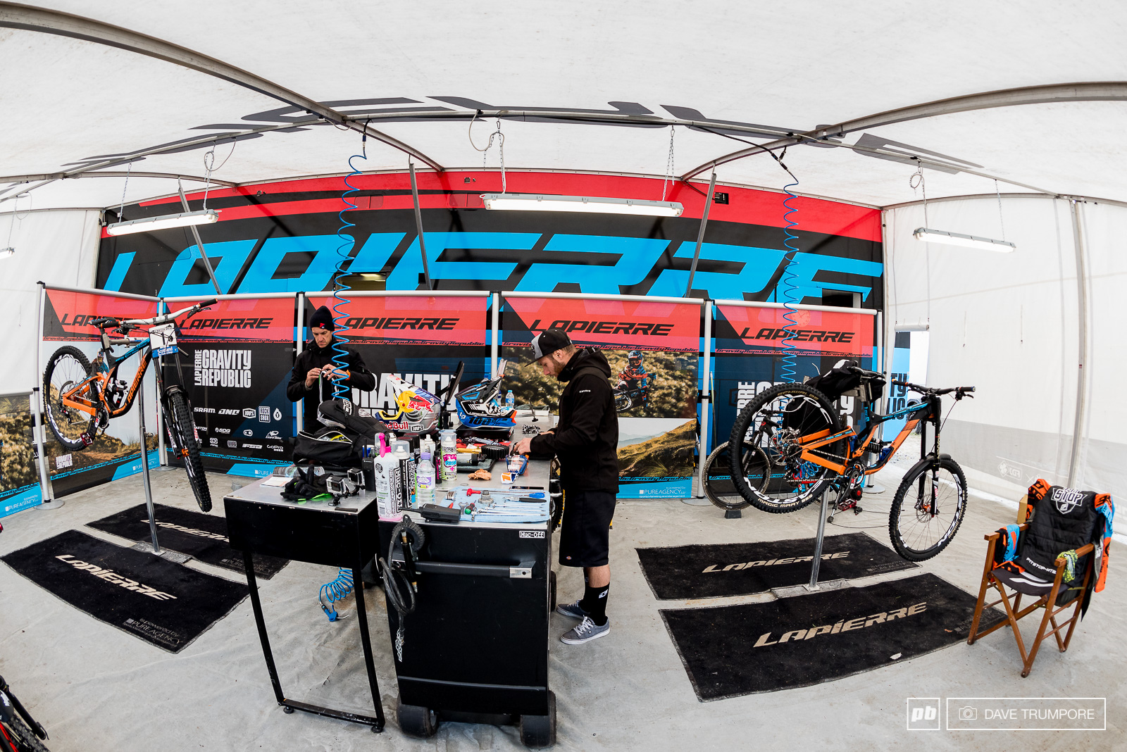 It s a smooth running operation at Lapierre.