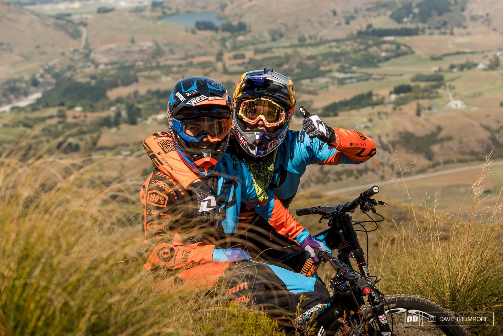 Loic and Finn in NZ riding together for the first time during team camp way back in March.