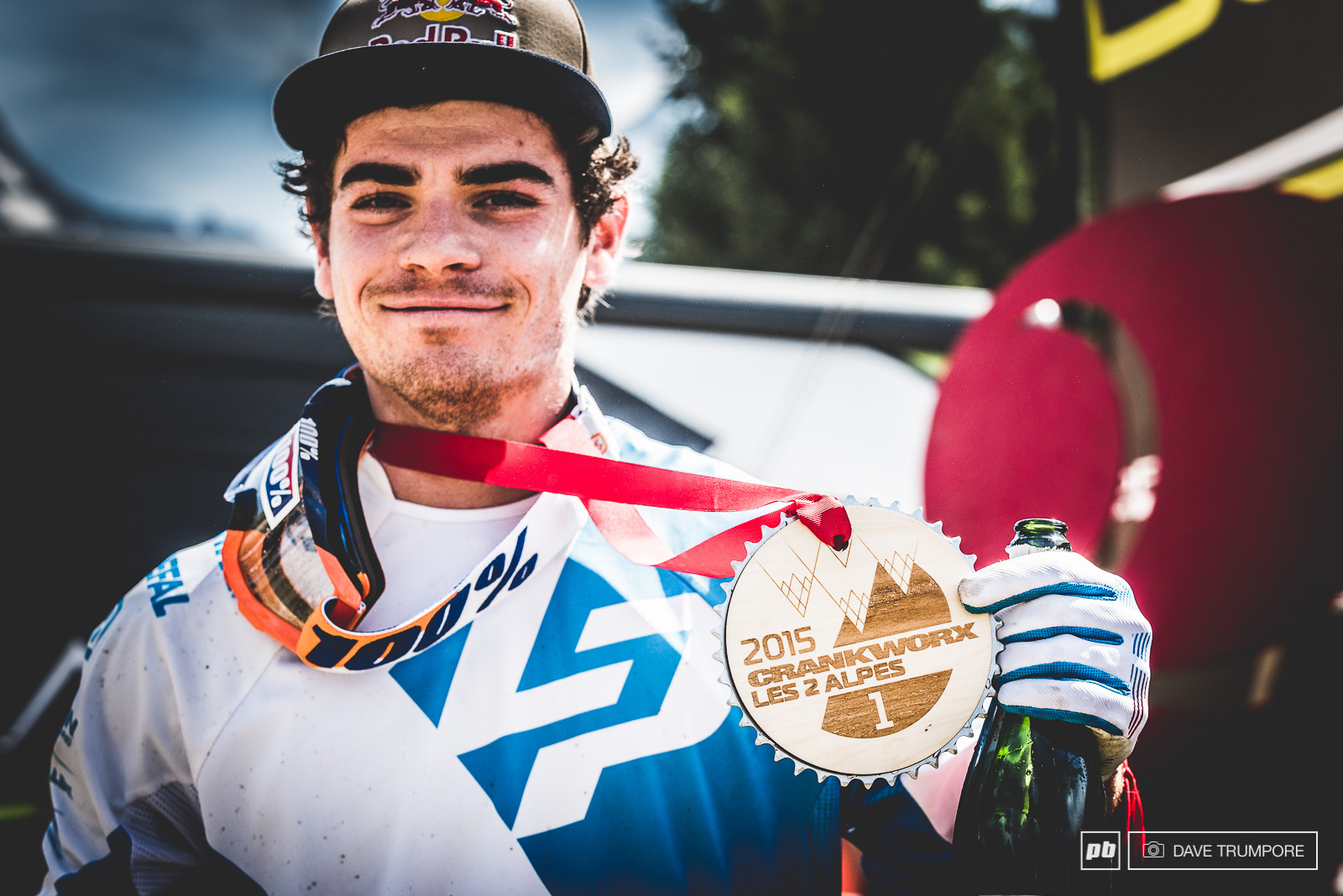 Loic would make it 2 for 2 in the Crankworx series backing up his win from NZ with another in Les 2 Alps.