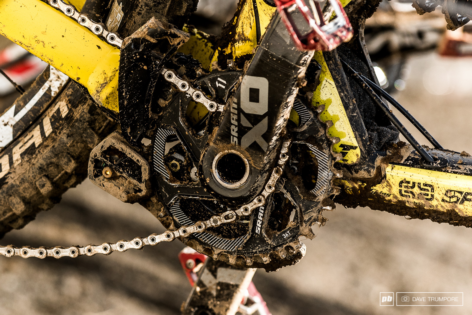 A derailed chain far above split one kept Bruni from putting in any pedal strokes for the final 2 minutes of the track in Canada.