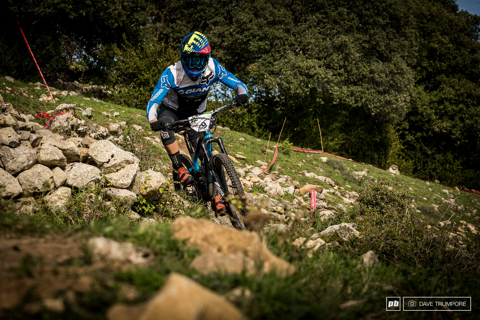Third at the last round Yoann Barelli is looking for anothe podium here in Spain.