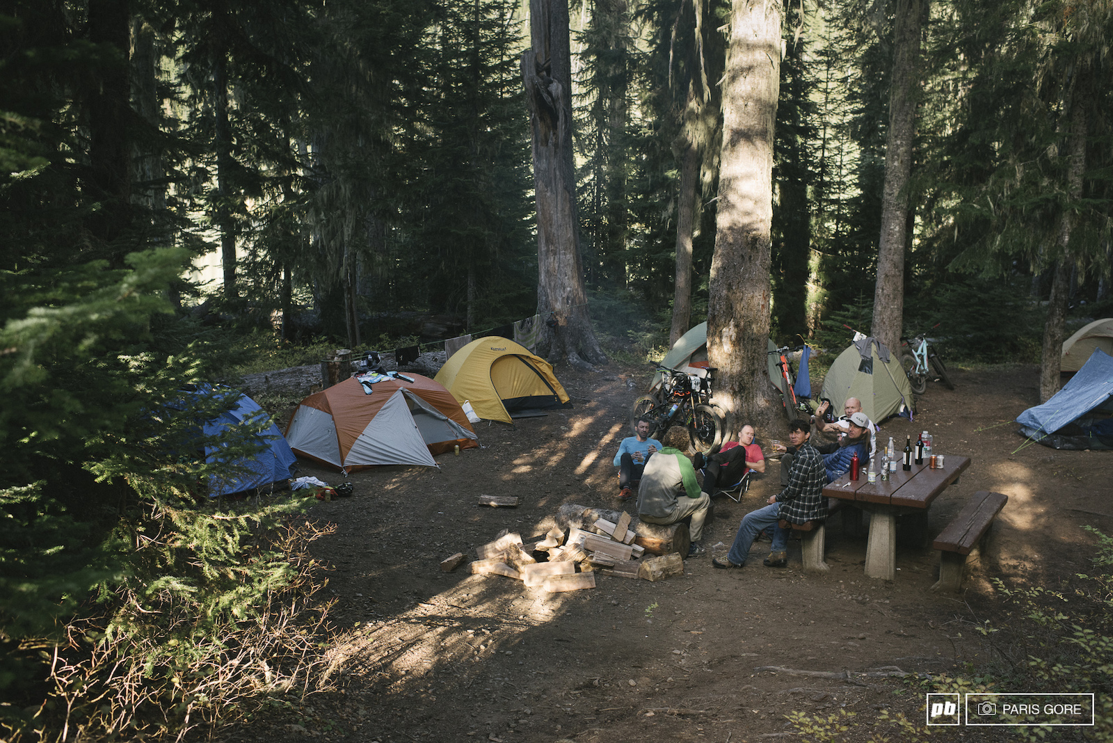 Image from the Trans-Cascadia Enduro by Paris Gore.