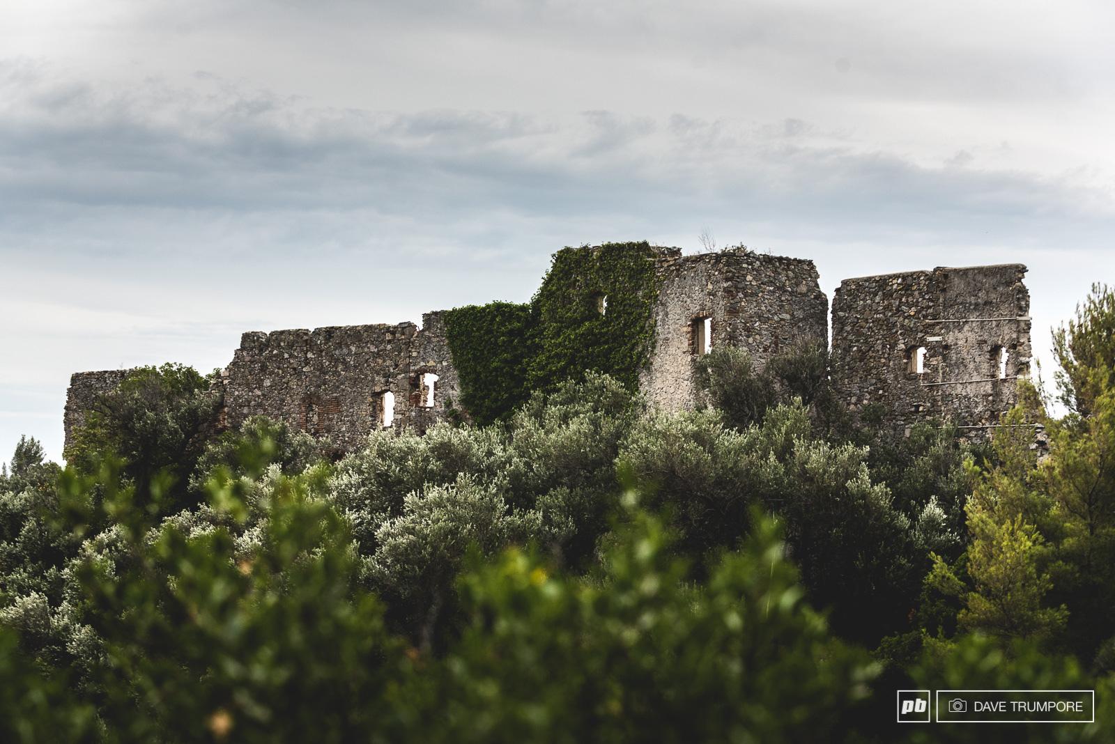 Riding through the history of human settlement along the Mediterranean coastline.