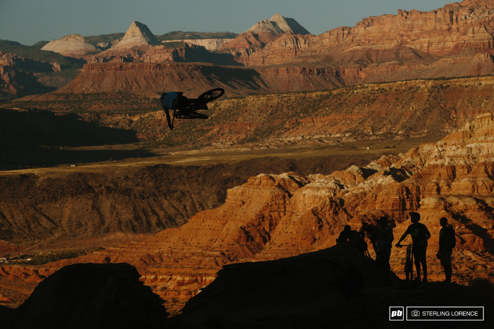 Graham Agassiz at RedBull Rampage 2015 Virgin Utah USA