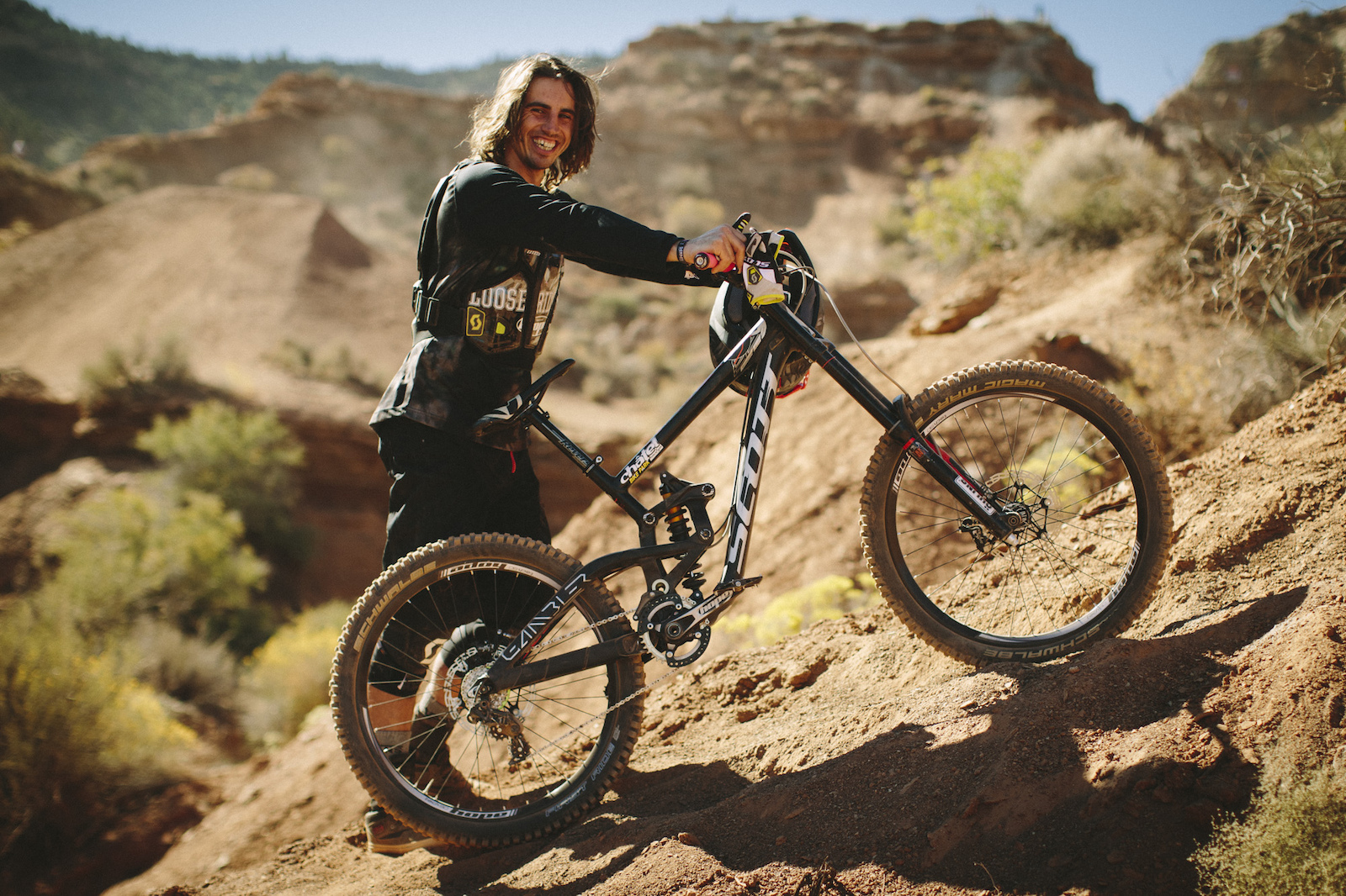 Nico Vink at RedBull Rampage 2015 Virgin Utah USA