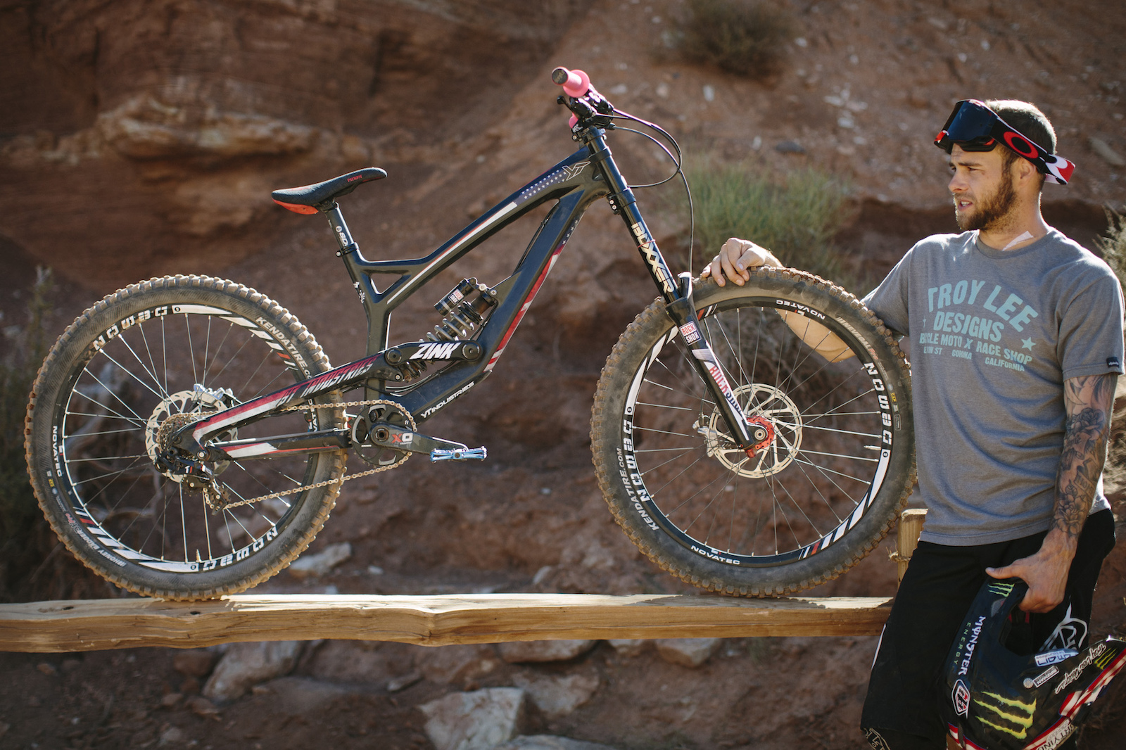 Cam Zink at RedBull Rampage 2015 Virgin Utah USA