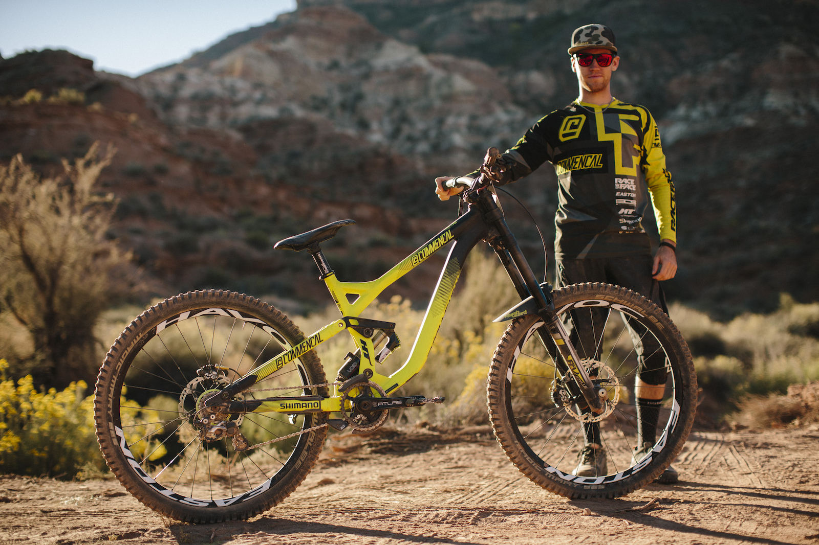 Remy Metailler at RedBull Rampage 2015 Virgin Utah USA