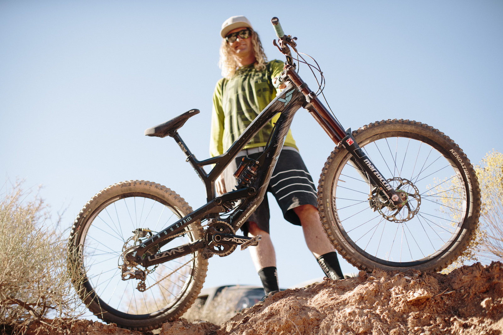 Kelly McGarry at RedBull Rampage 2015 Virgin Utah USA