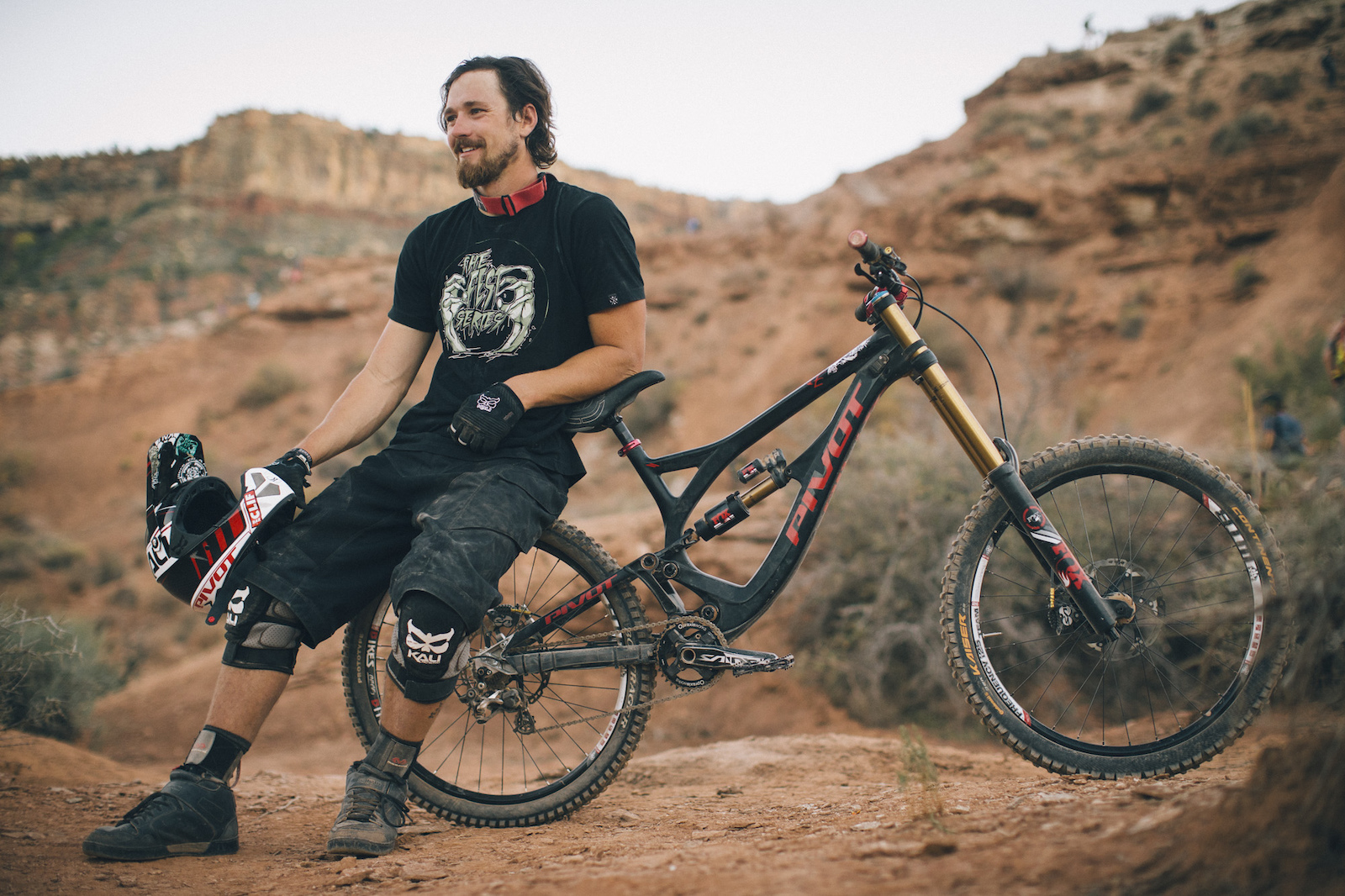 Jeff Herbertson at RedBull Rampage 2015 Virgin Utah USA