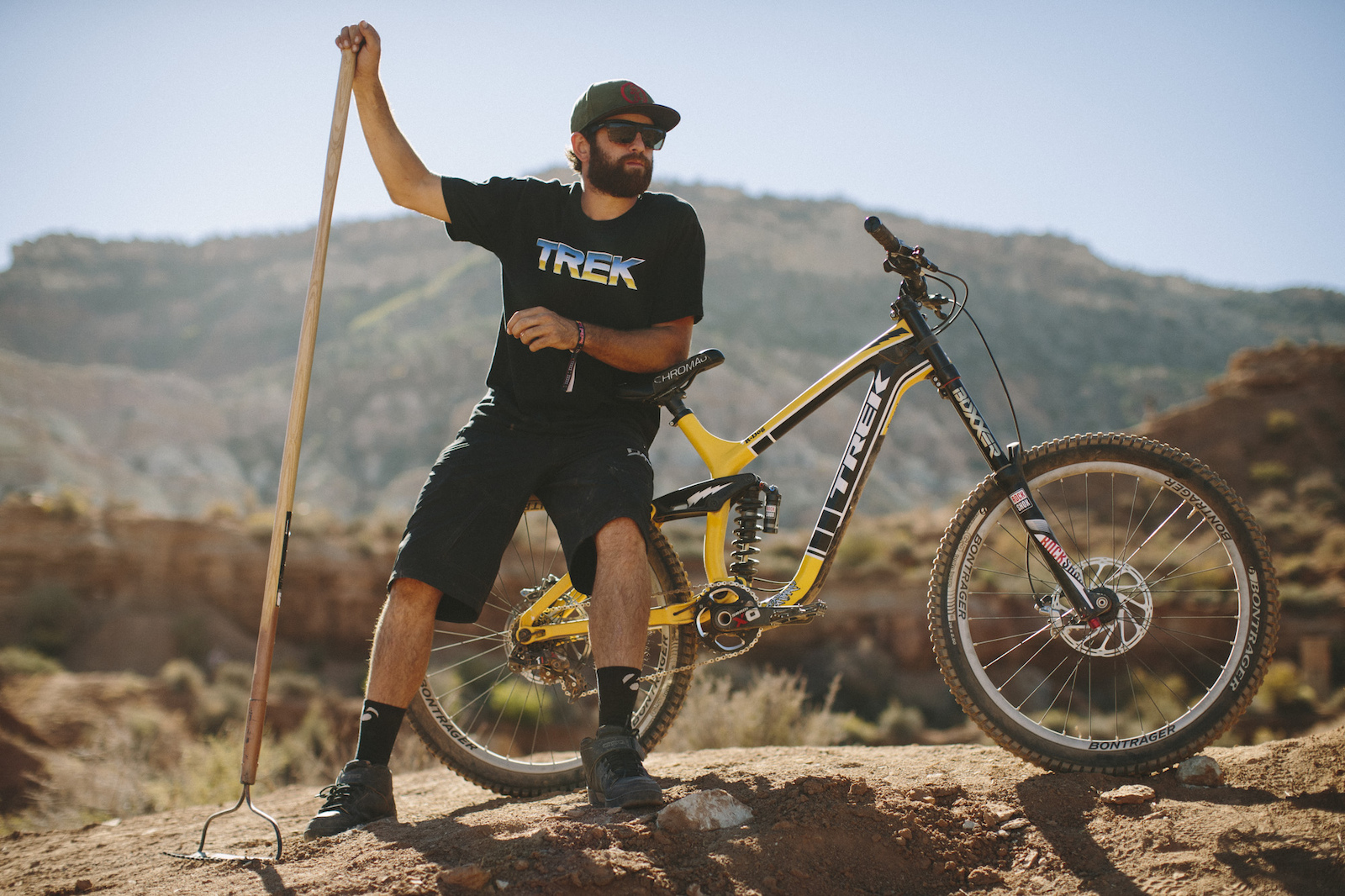 Ryan Howard at RedBull Rampage 2015 Virgin Utah USA