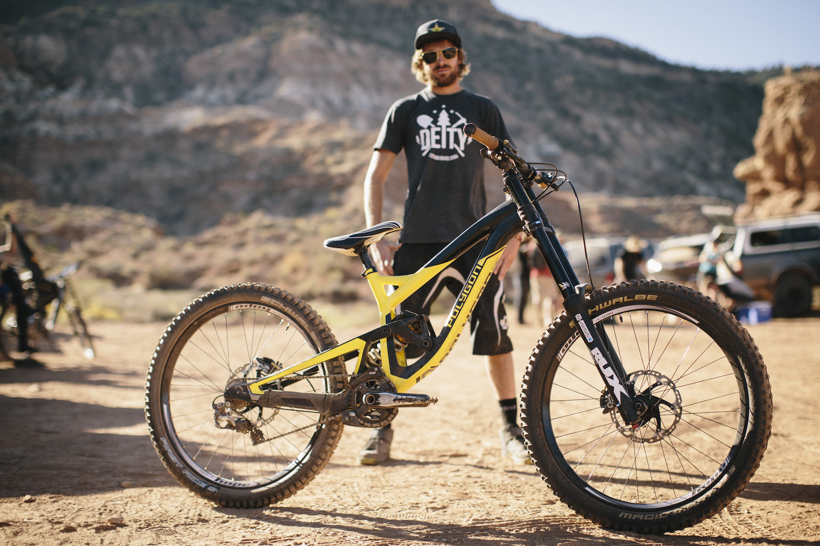 Kurt Sorge at RedBull Rampage 2015 Virgin Utah USA