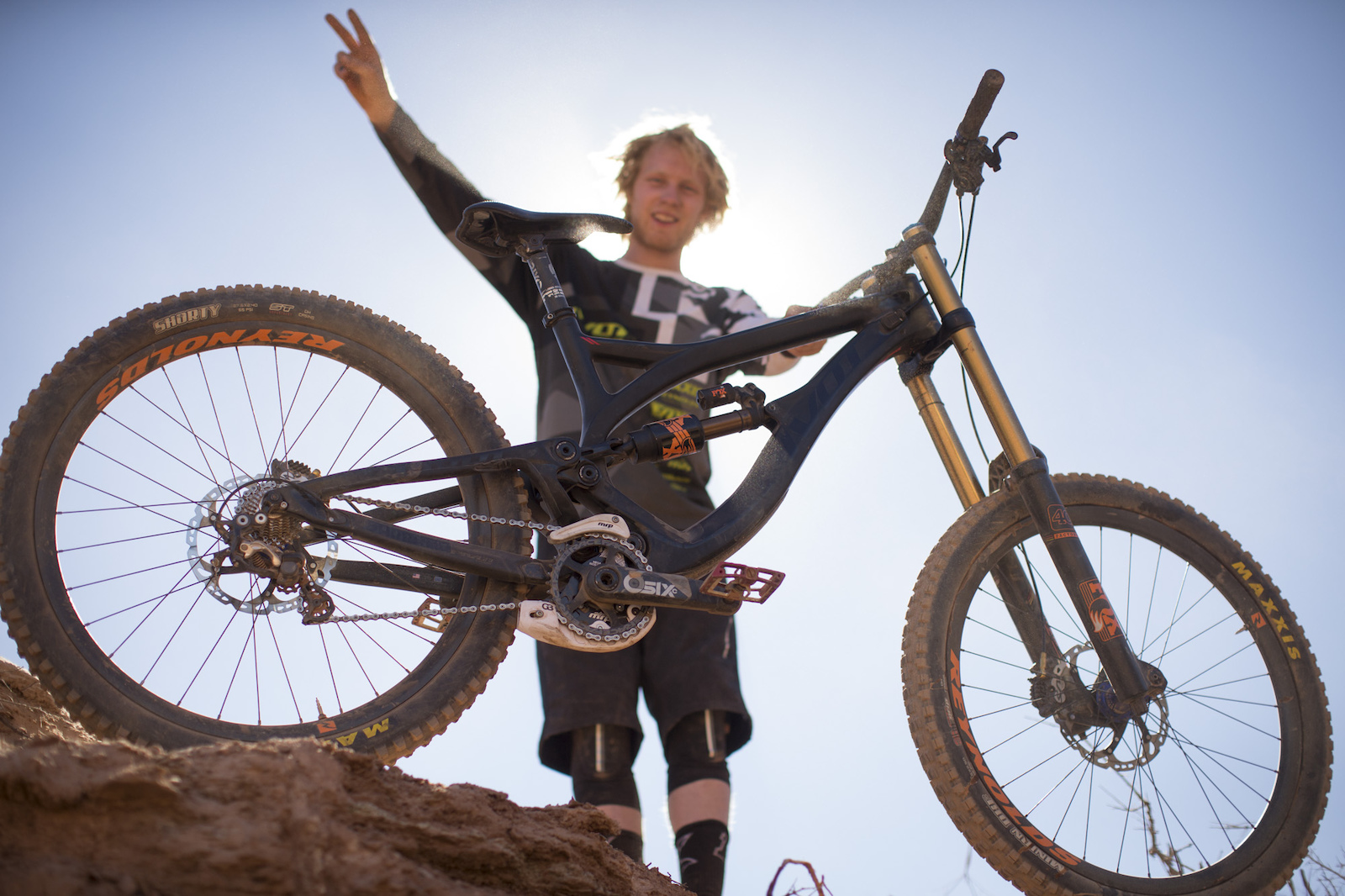 Bernard Kerr at RedBull Rampage 2015 Virgin Utah USA