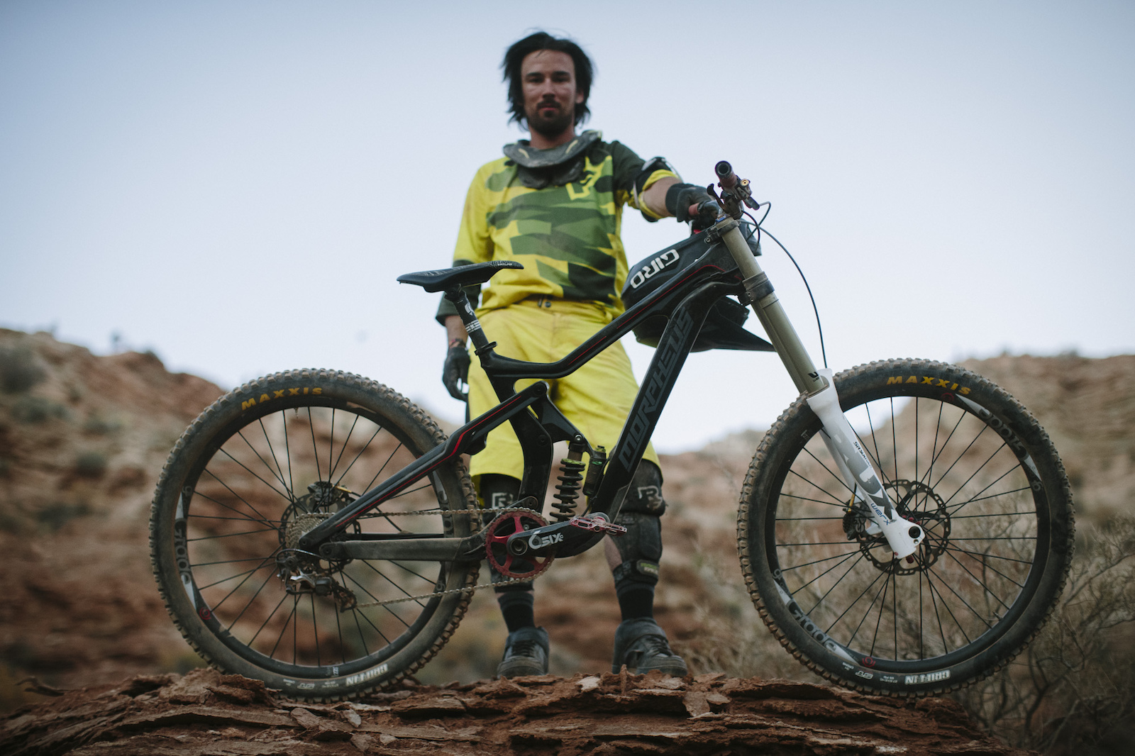 Mitch Chubey at RedBull Rampage 2015 Virgin Utah USA