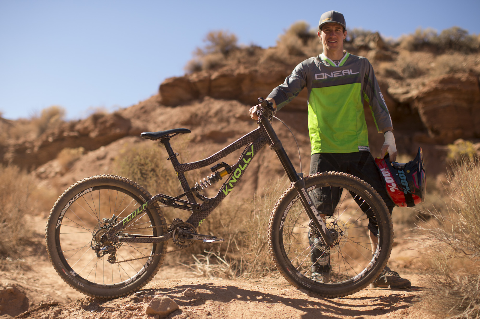 James Doerfling at RedBull Rampage 2015 Virgin Utah USA