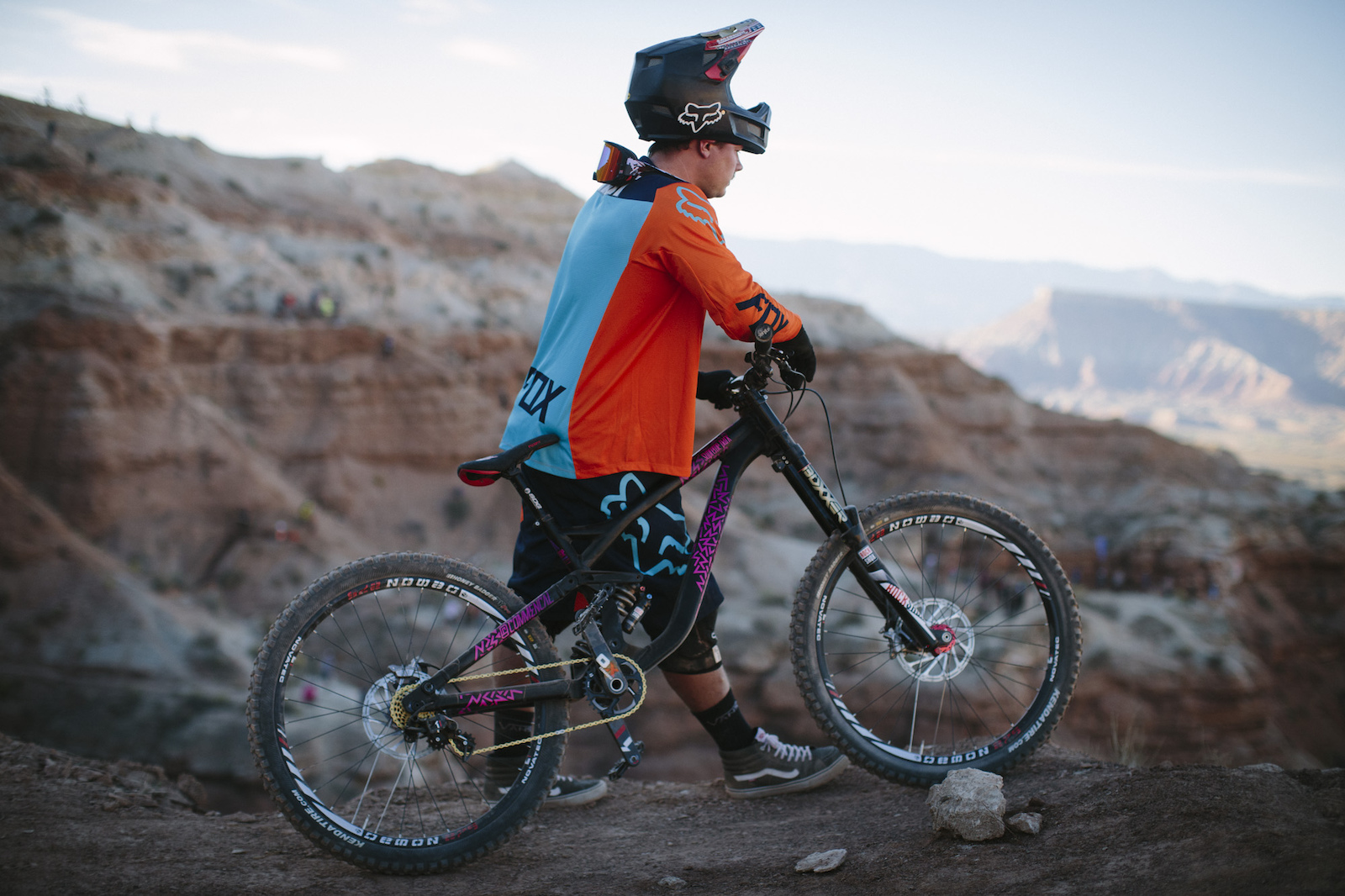 Kyle Strait at RedBull Rampage 2015 Virgin Utah USA