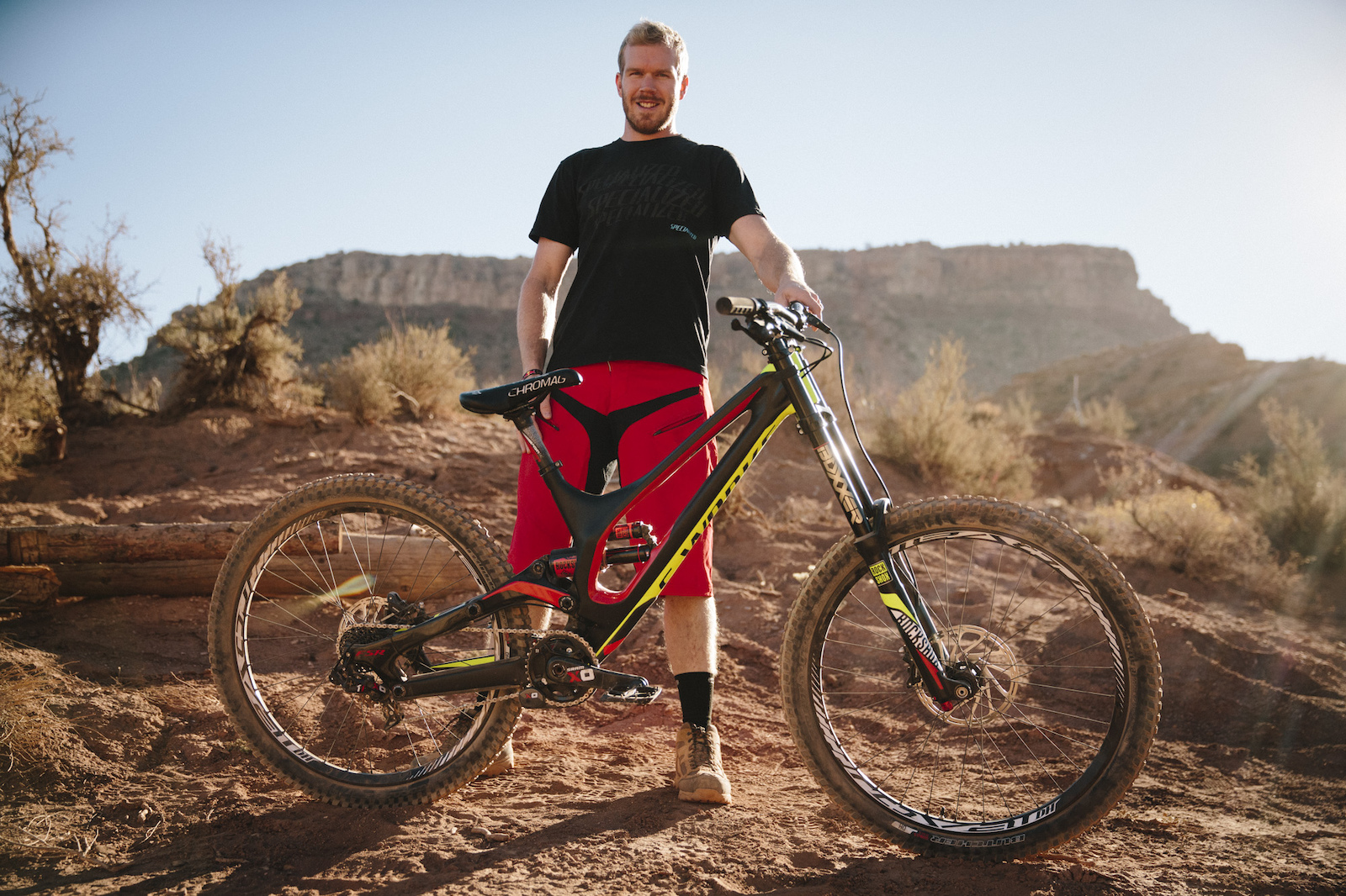 Kyle Norbraten at RedBull Rampage 2015 Virgin Utah USA