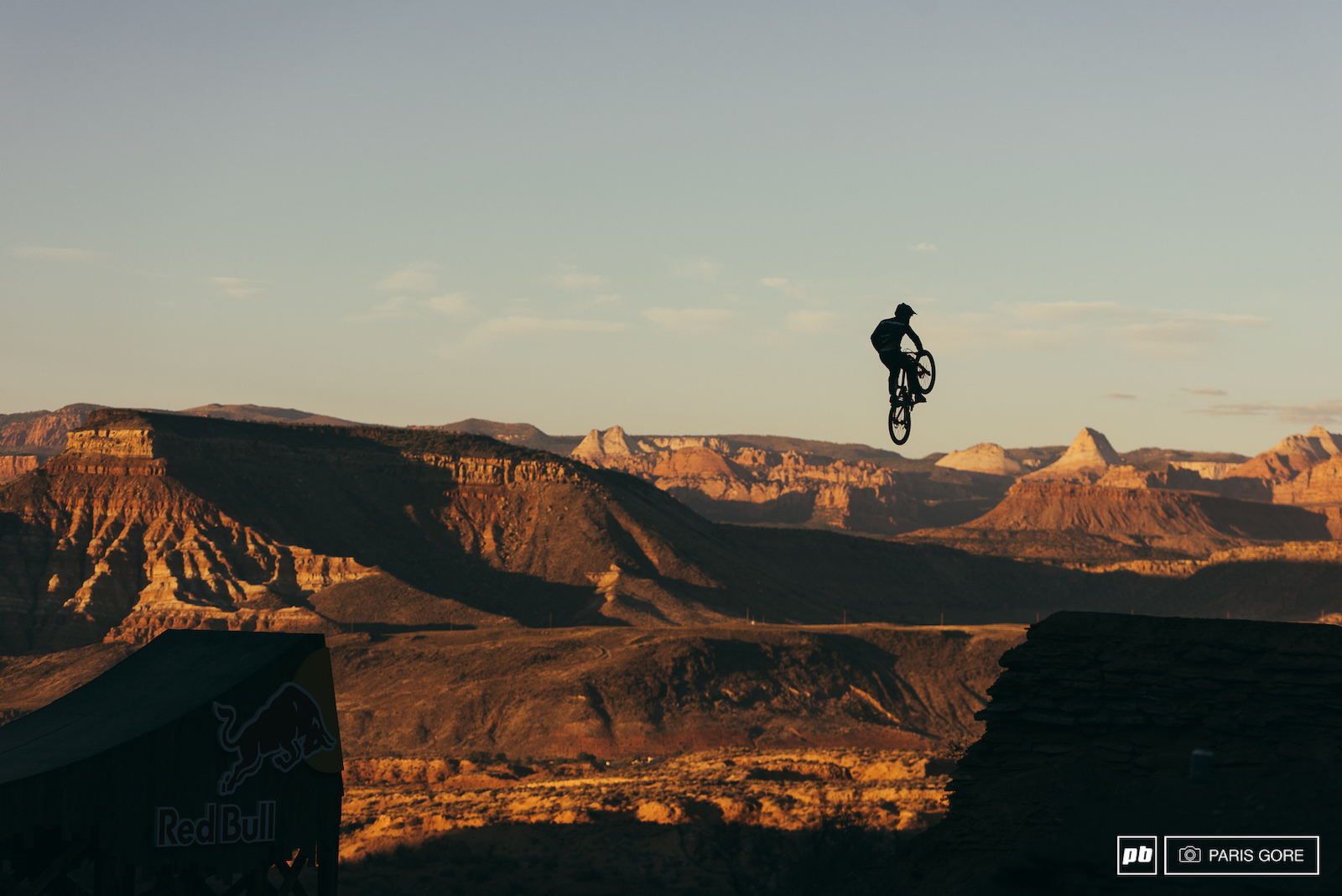 Tom Van Steenbergen cleaned the canyon gap today after 50 50ing it the first time a few days ago.