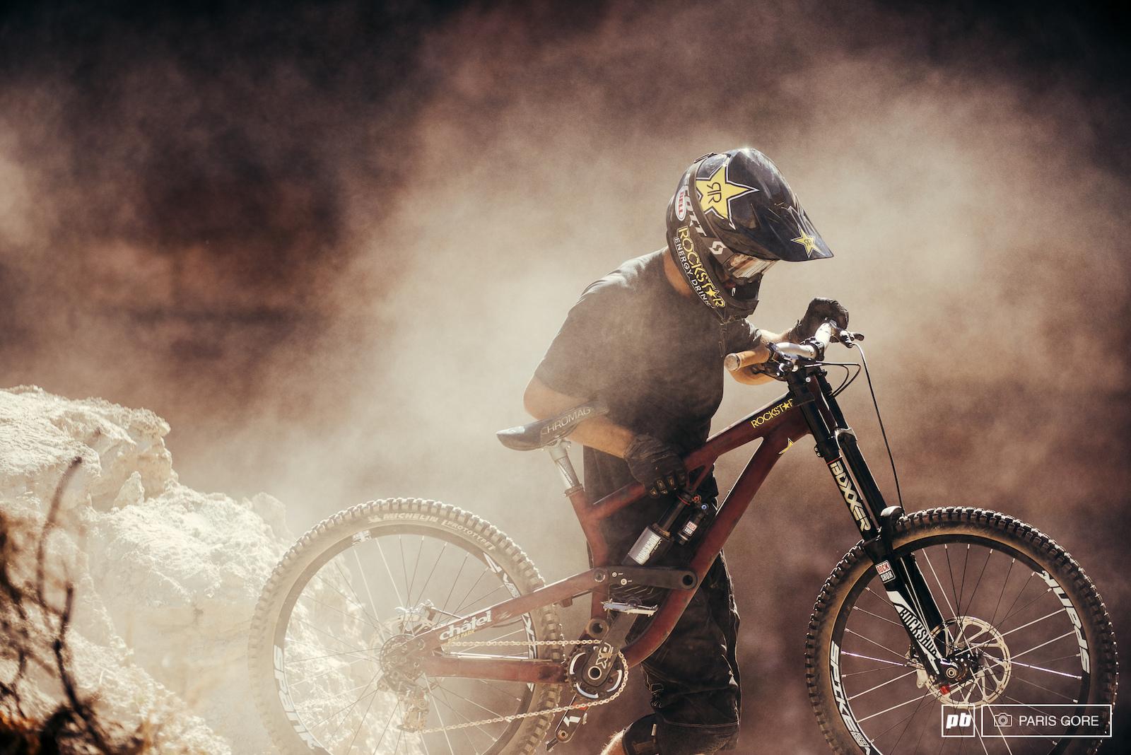 Dust storm trooper.