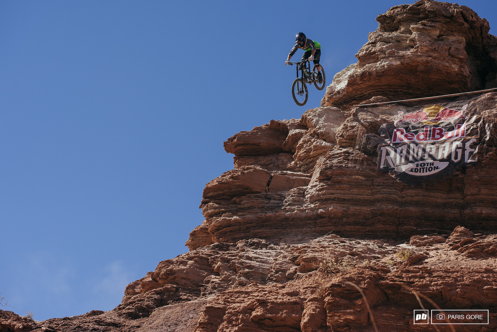 James Doerfling sending it off one of the bigger drops at rampage sticking the landing.