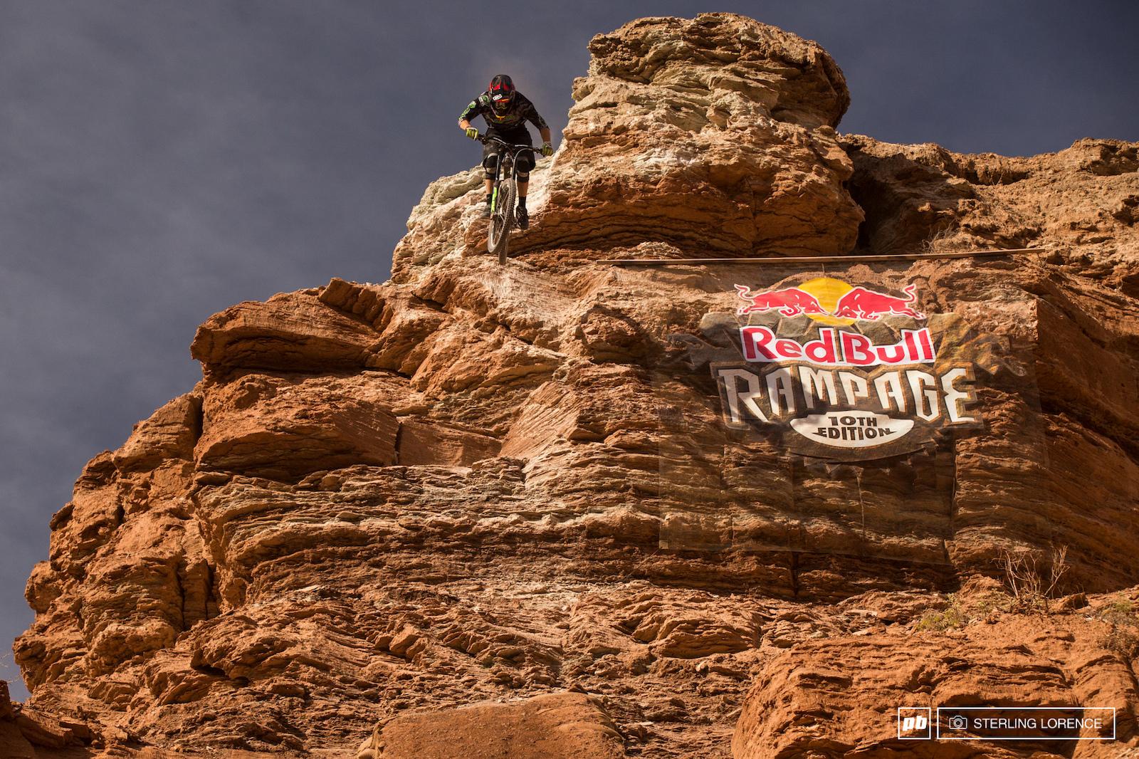 James Doerfling at RedBull Rampage 2015 Virgin Utah USA