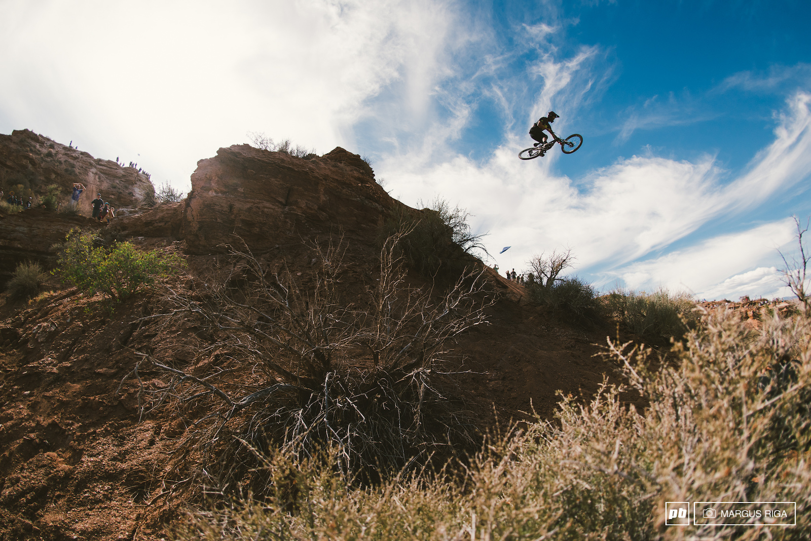 Pierre Edward Ferry dropping down to the RZR booter.