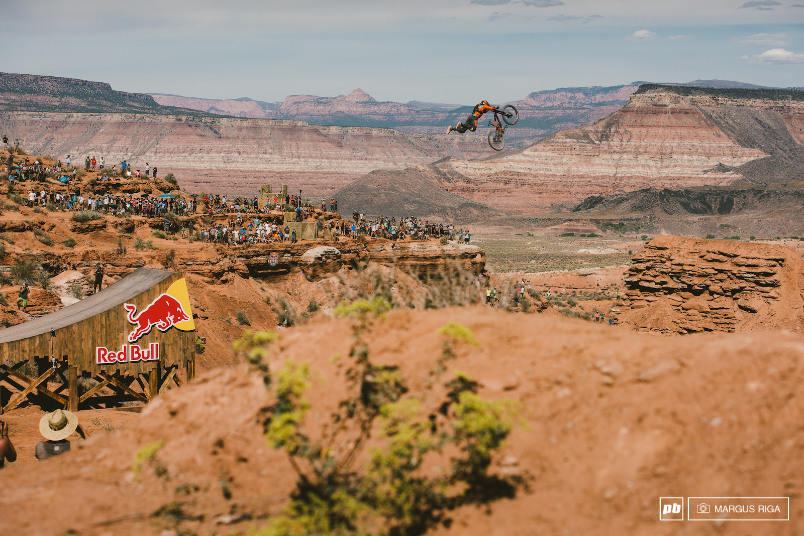 Sam Reynolds with a super man off the canyon gap.