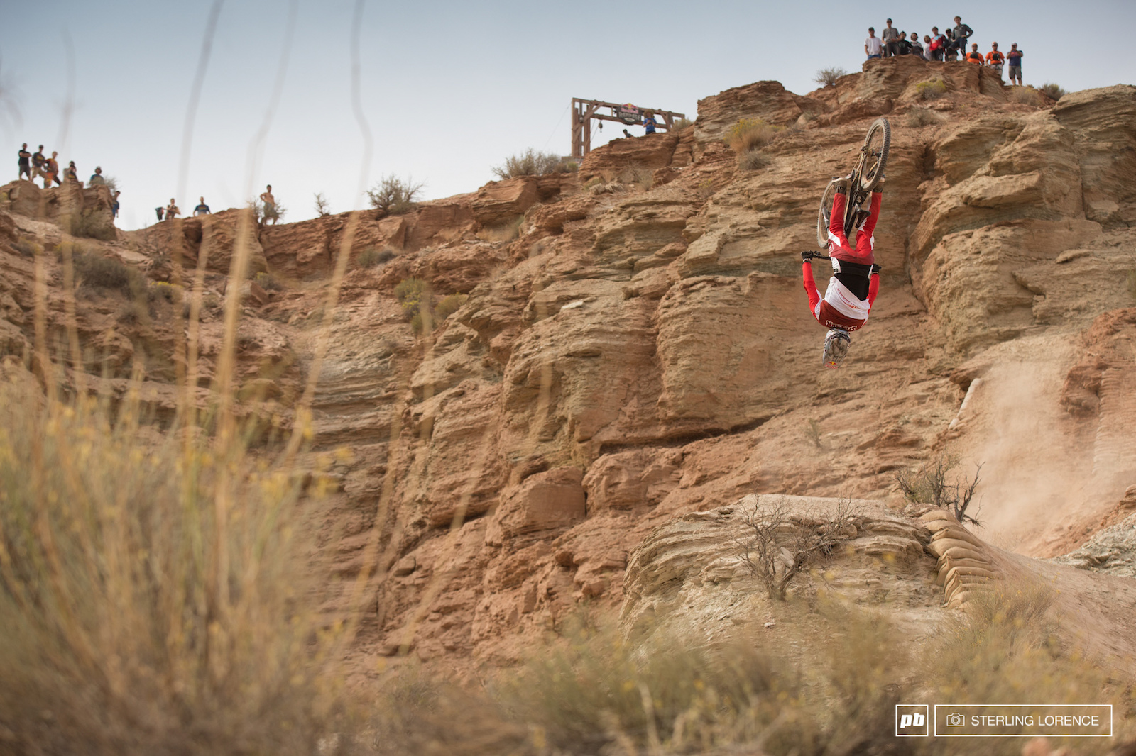 Semenuk at RedBull Rampage 2015 Virgin Utah USA