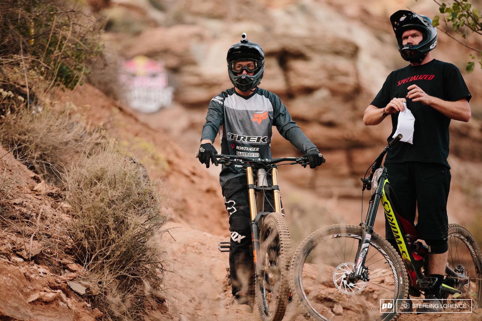 Rheeder and Norbs at RedBull Rampage 2015 Virgin Utah USA