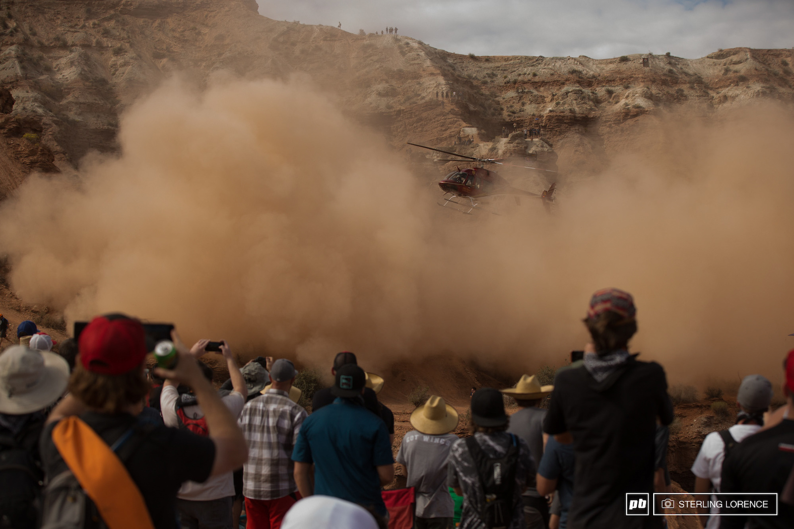 whatever it took to get Paul Basagoitia to the hospital at RedBull Rampage 2015 Virgin Utah USA