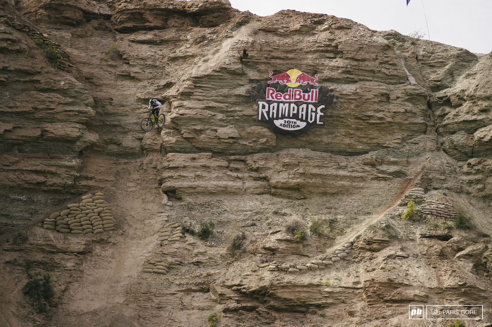 Kurt Sorge and Darren Berrecloth both share this massive start drop which leads into the ridgeline.