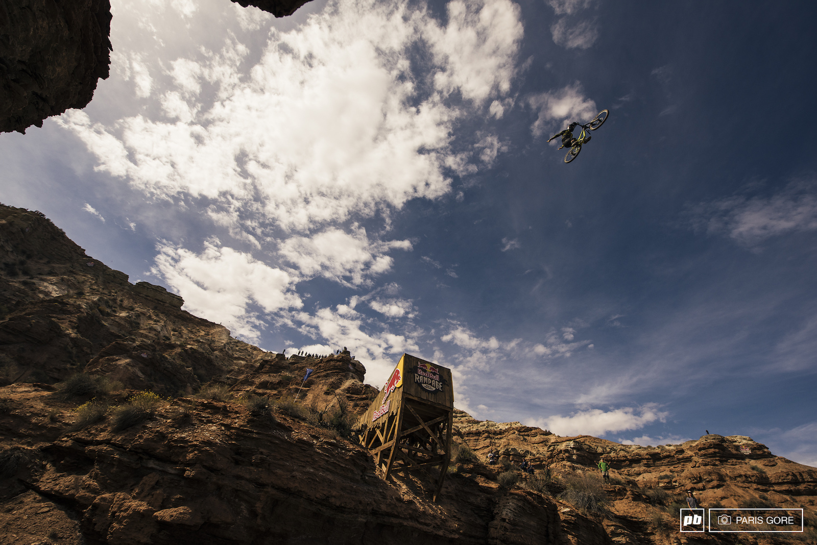 Remy Metailler suicide no hand off the canyon gap.