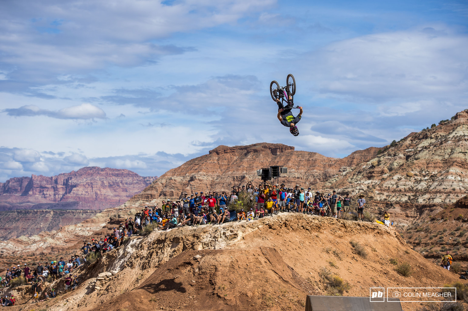 Pierre Edward Ferry placing the icing on his technical masterpice with a casual back flip on the Rzr booter.