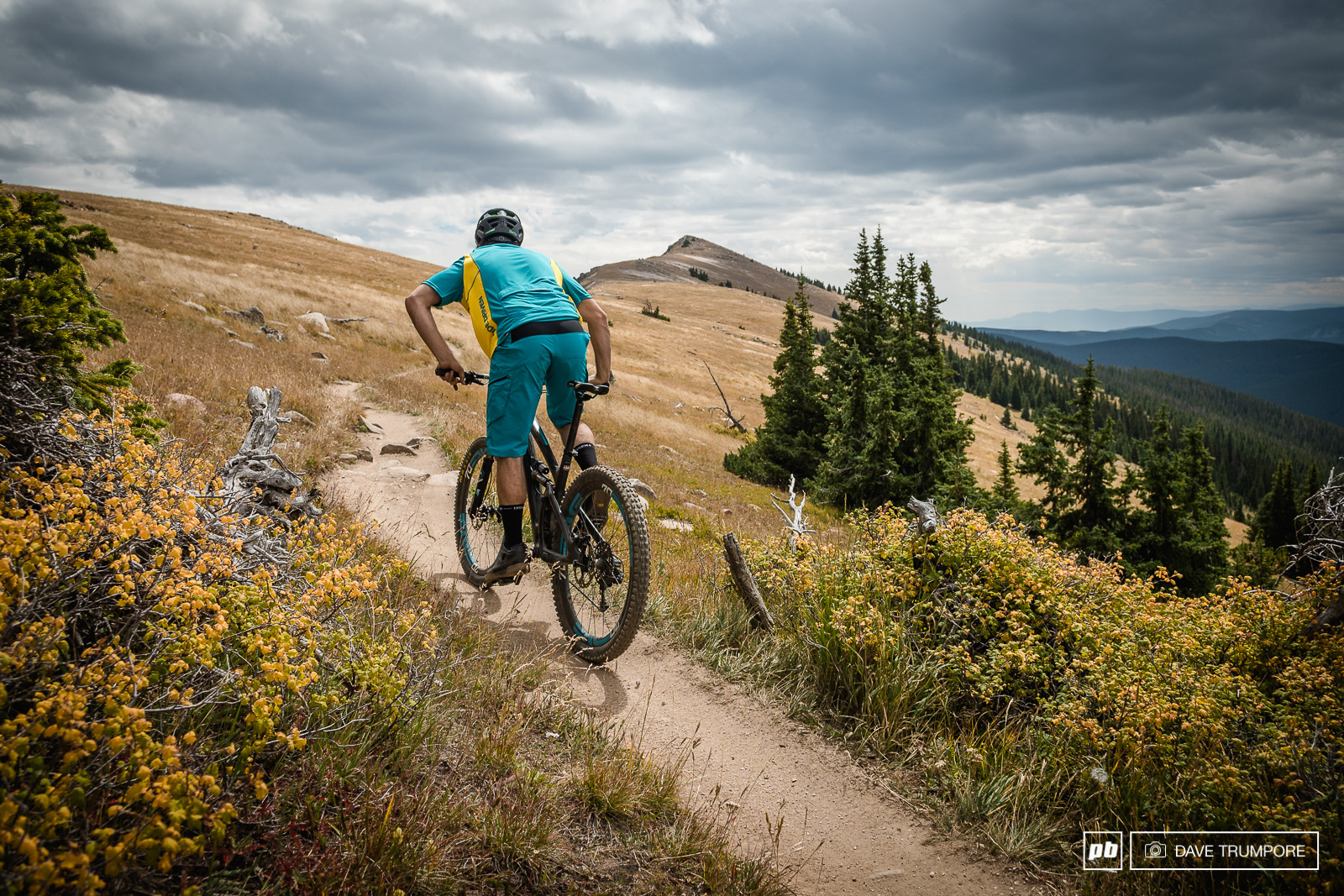 The first order of the day was the climb and traverse of Monarch Pass.