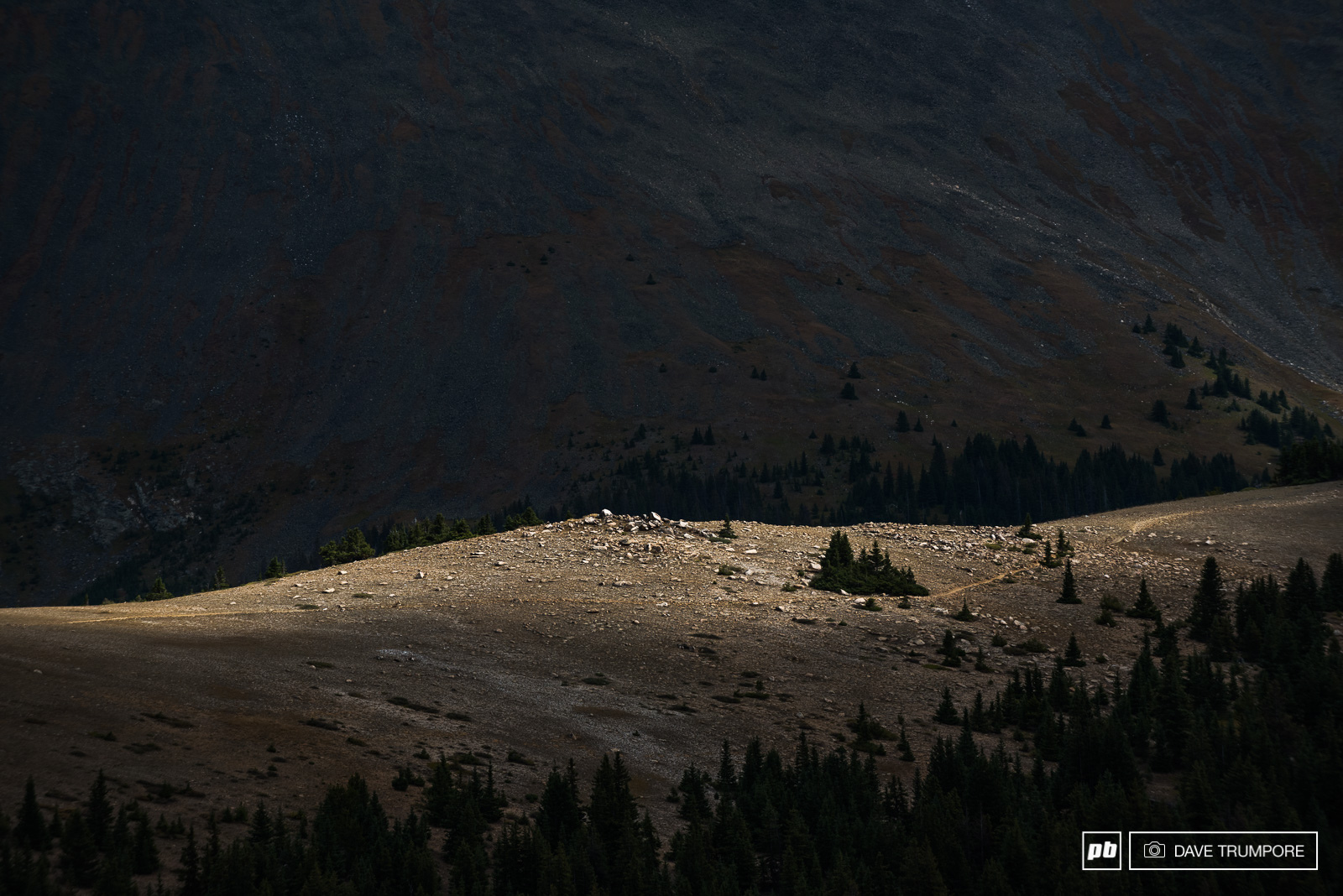 Chasing that elusive light over the Continental Divide.