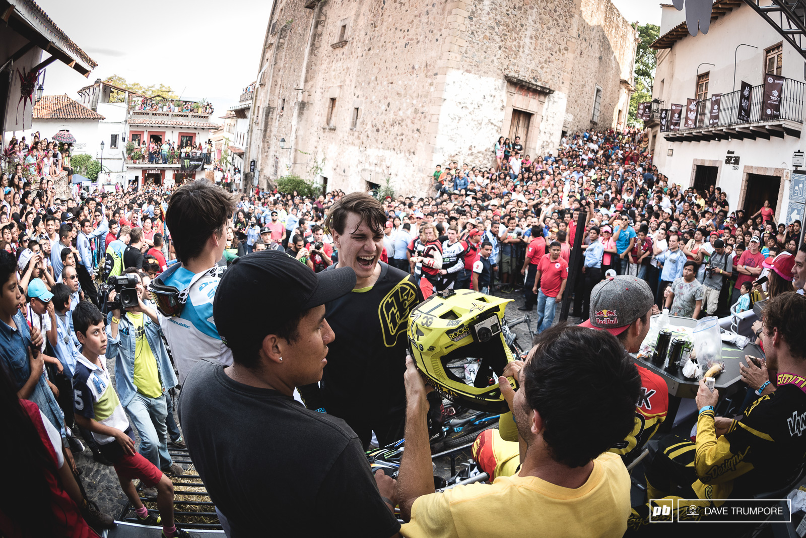 Massive crowds greeted riders once again in Taxco.