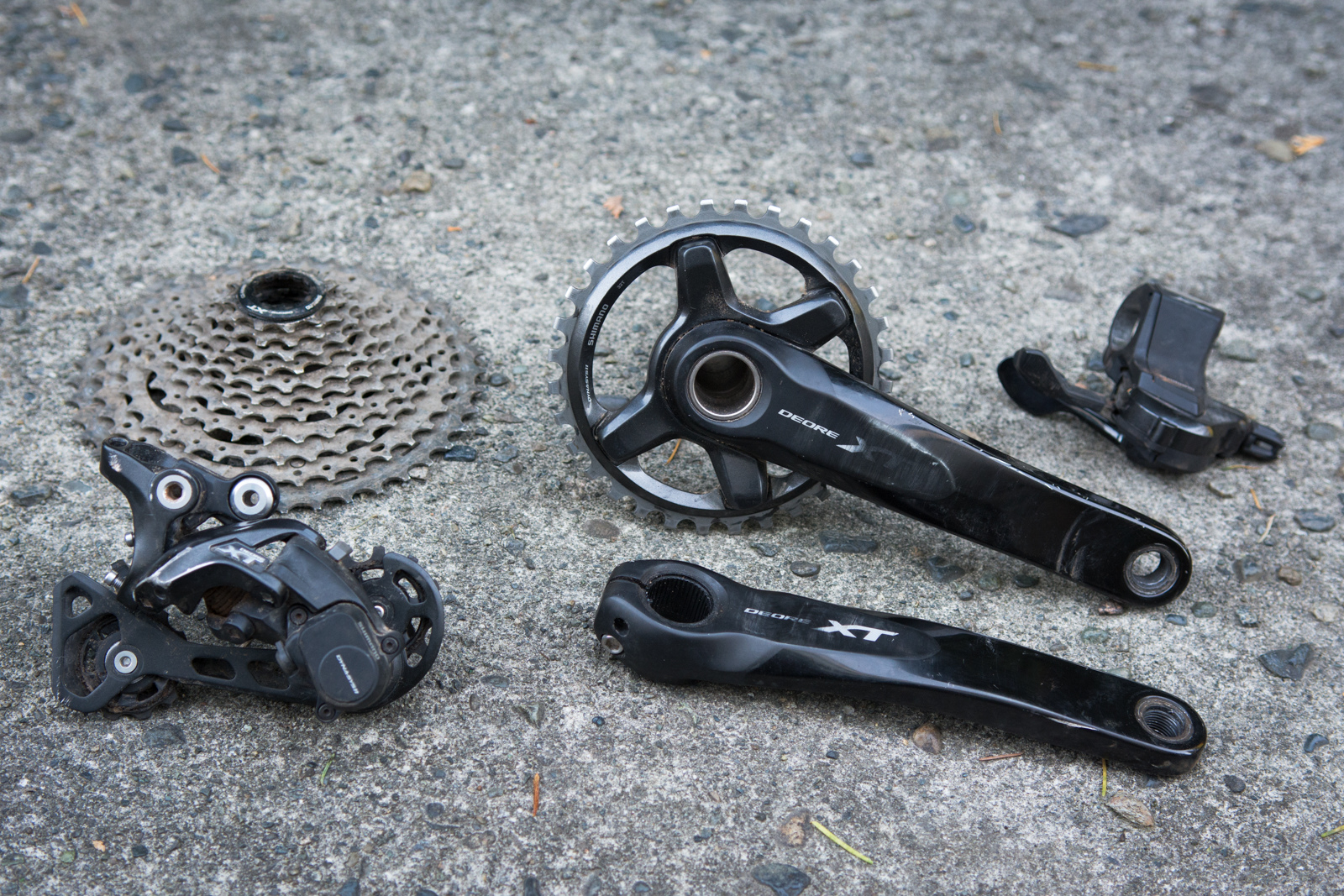 Shimano M 8000 drivetrain review