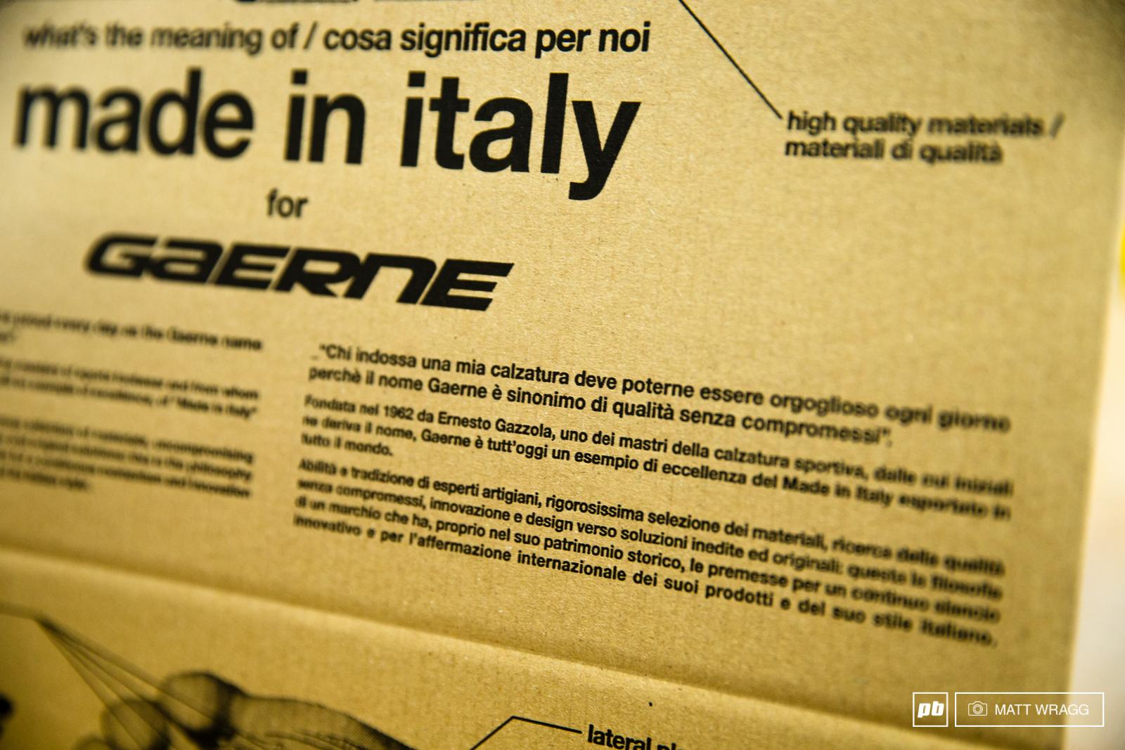 Inside Gaerne. Asolo Italy. Photo by Matt Wragg.