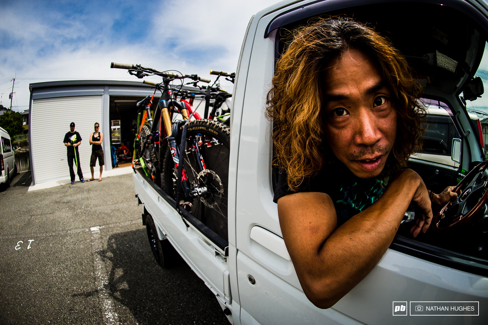 The legendary trail builder come private taxi-man that is Nogucchi