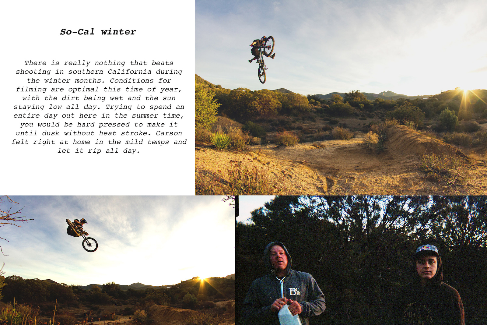 Kyle Strait Carson Storch images from Amigos and Burritos article for Kenda.
