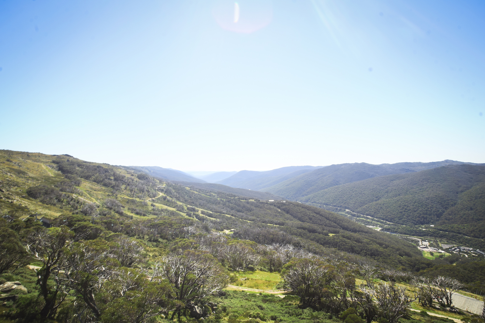 The beautiful Thredbo Valley home to out race course for the weekend.
