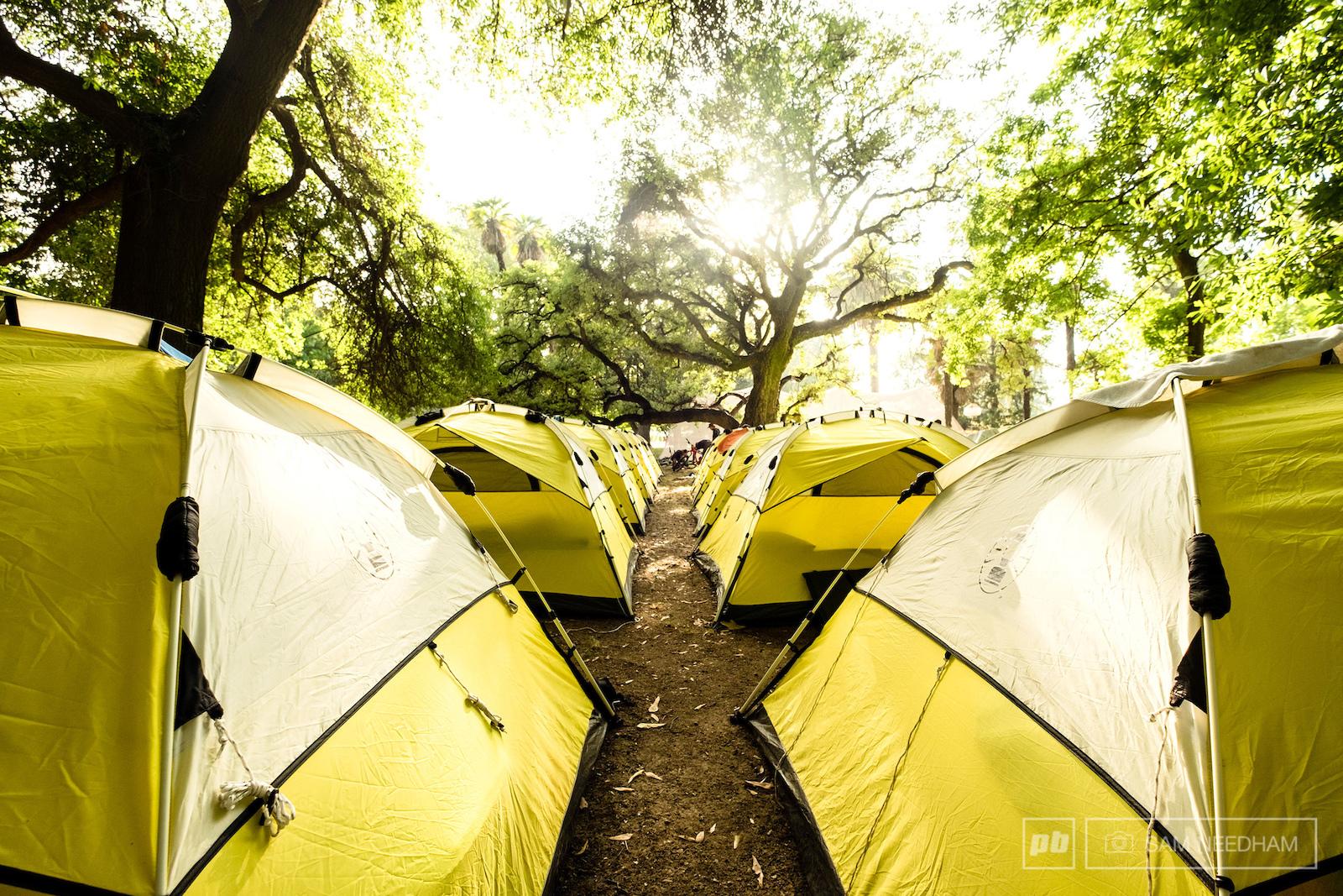 Camp vibes.