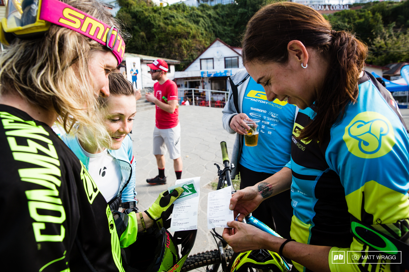 Cecile and Anneke Beerten were comparing times at the finish line. They couldn t believe how close they are and with the two of them on this kind of form it is shaping up to be an exciting season for the women s title.