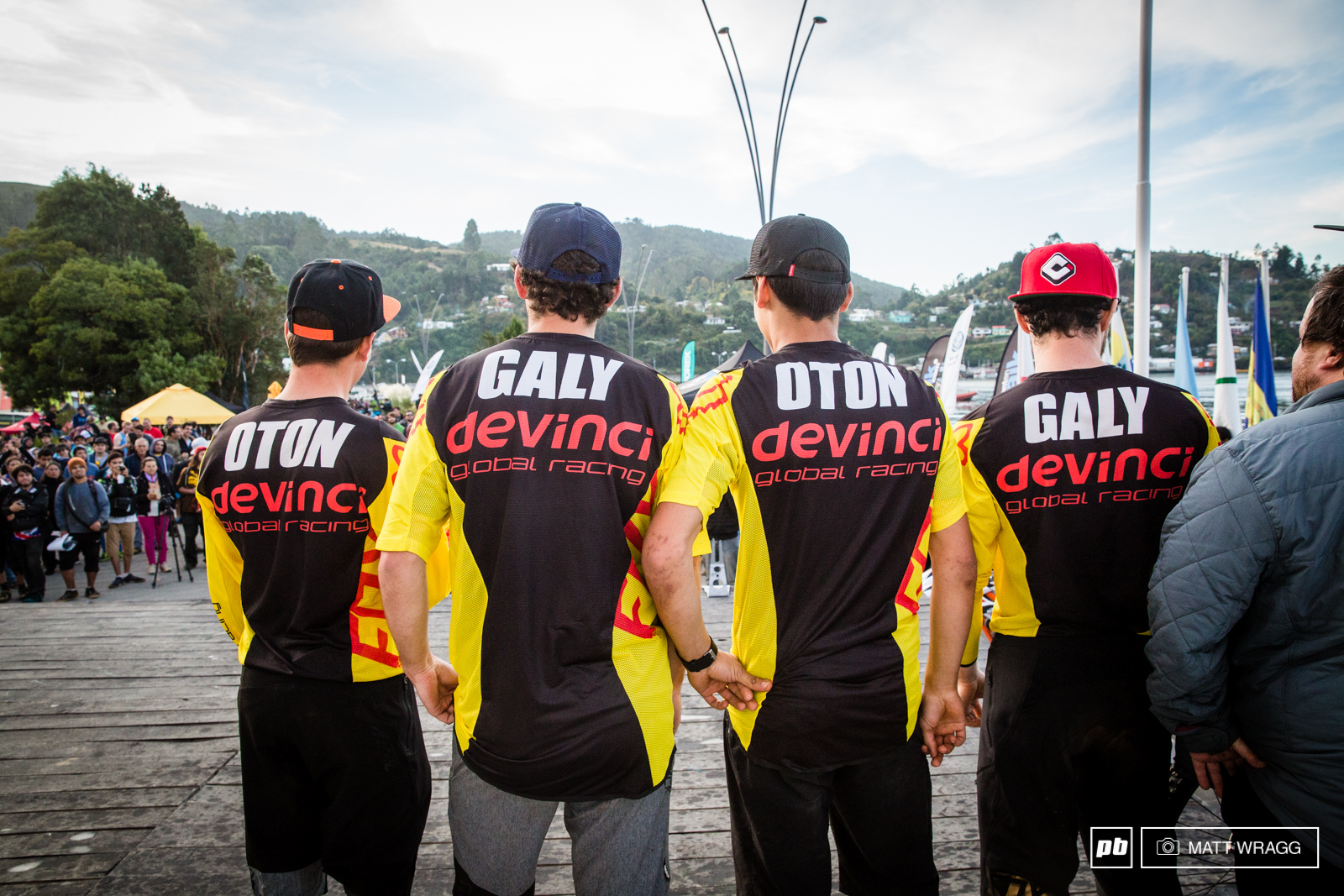 Devinci took the third spot in the team ranking today. Their secret Cloning.