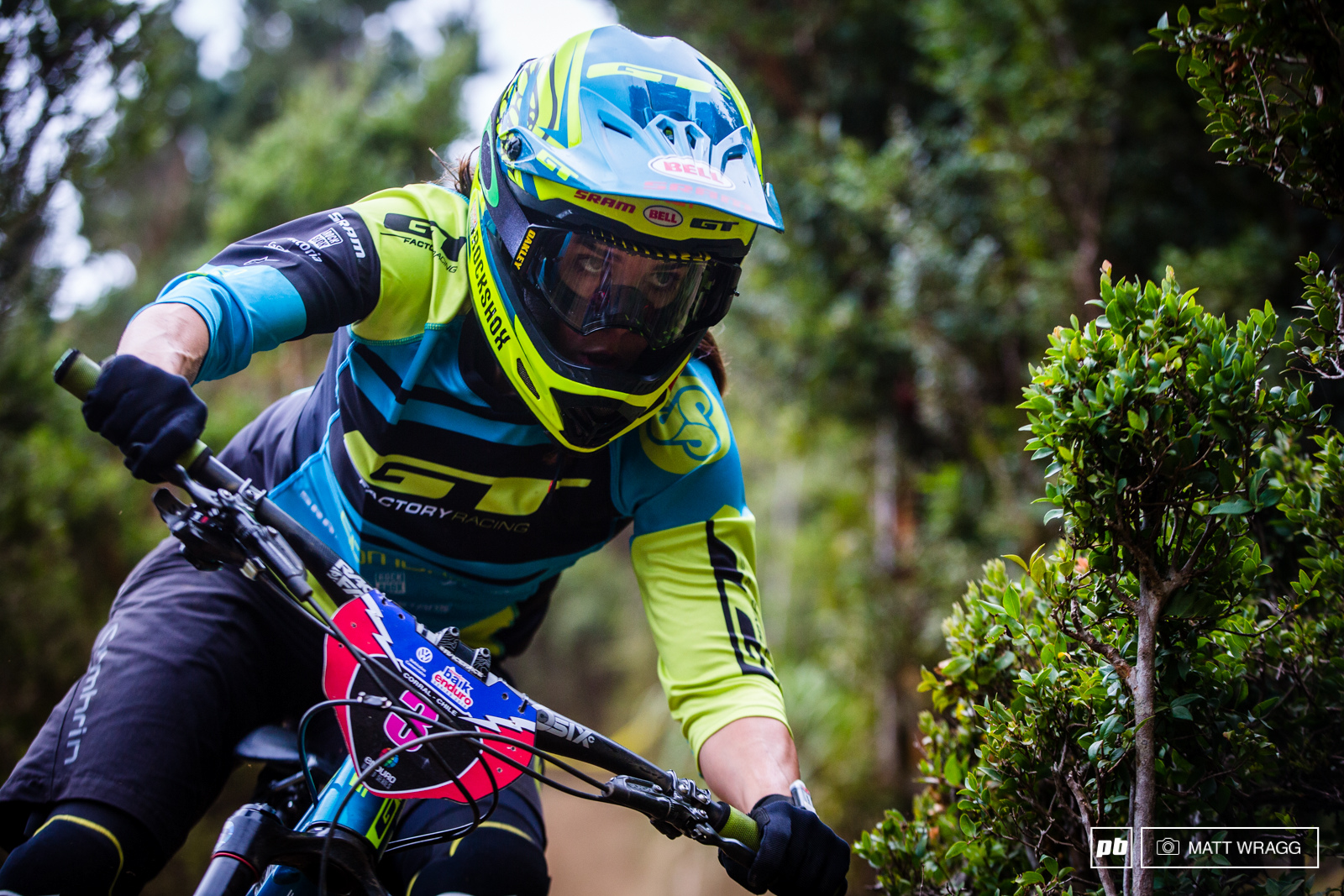 Anneke s eyes are firmly on the prize this season. Although second is her best ever EWS result she was so close to the win that you could see this evening that she feels it s within her grasp.