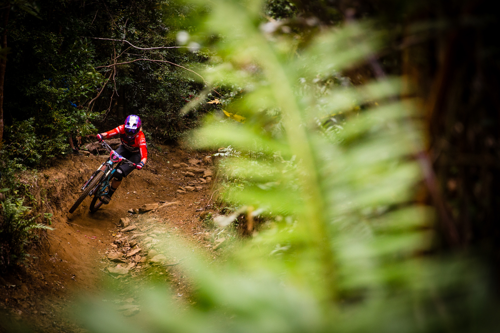Anita Gehrig got her best EWS result this weekend with a 5th place overall and her best stage result with a 3rd place on the third stage of the weekend.