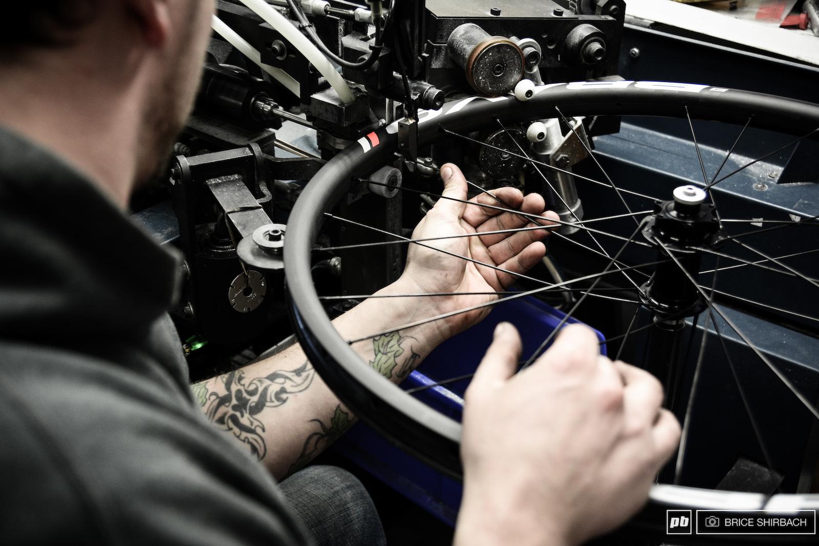 THE Holland Mechanics lacing machine