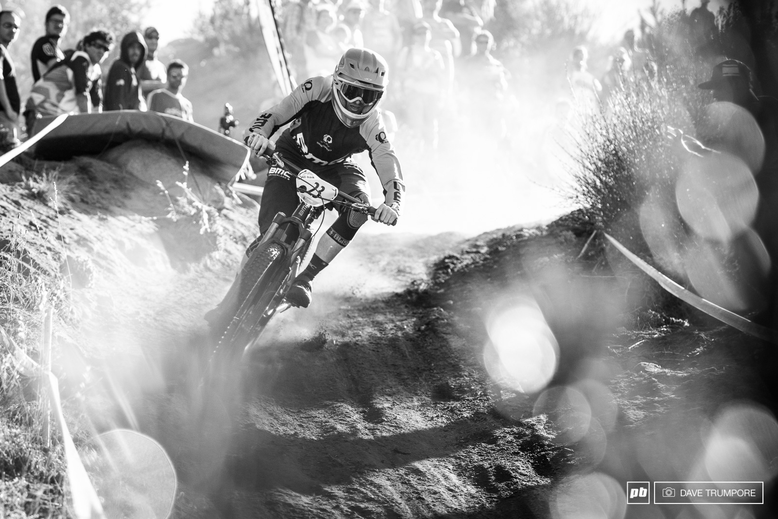 Fully committed and even with a few big crashes Lewis Buchanan improved on his 13th from last weekend to take 7th spot in Bariloche. Keep your eye on this guy as he is quickly making a name for himself amongst the EWS ranks.